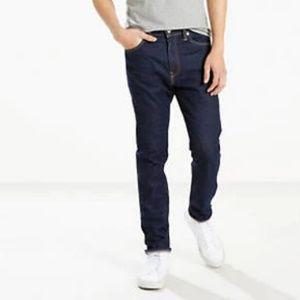 NWOT Levi's 510 Skinny Men's Jeans Dark Wash Denim